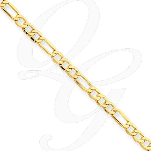 14k 2.50mm Figaro Chain